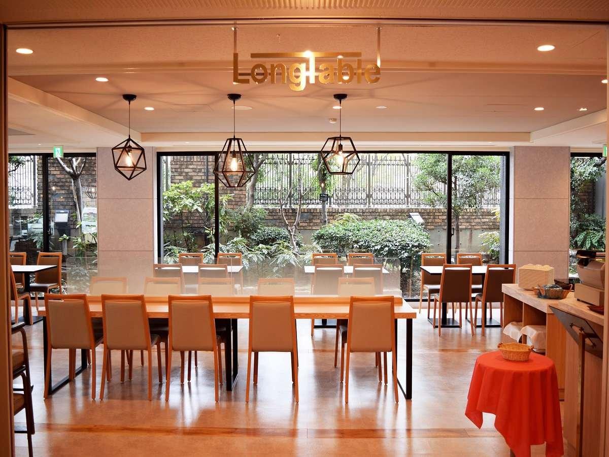 朝食会場:Long Table