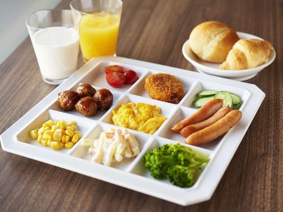 【朝食バイキング】洋風メニュー一例