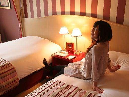 【部屋】オンナゴコロをくすぐる可愛い雰囲気のツインルーム☆