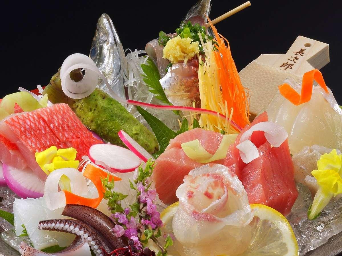 ~網元直営美食鉢盛り~ ※内容はその日の海のご機嫌により変わります。