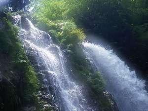 白銀の滝~春夏~