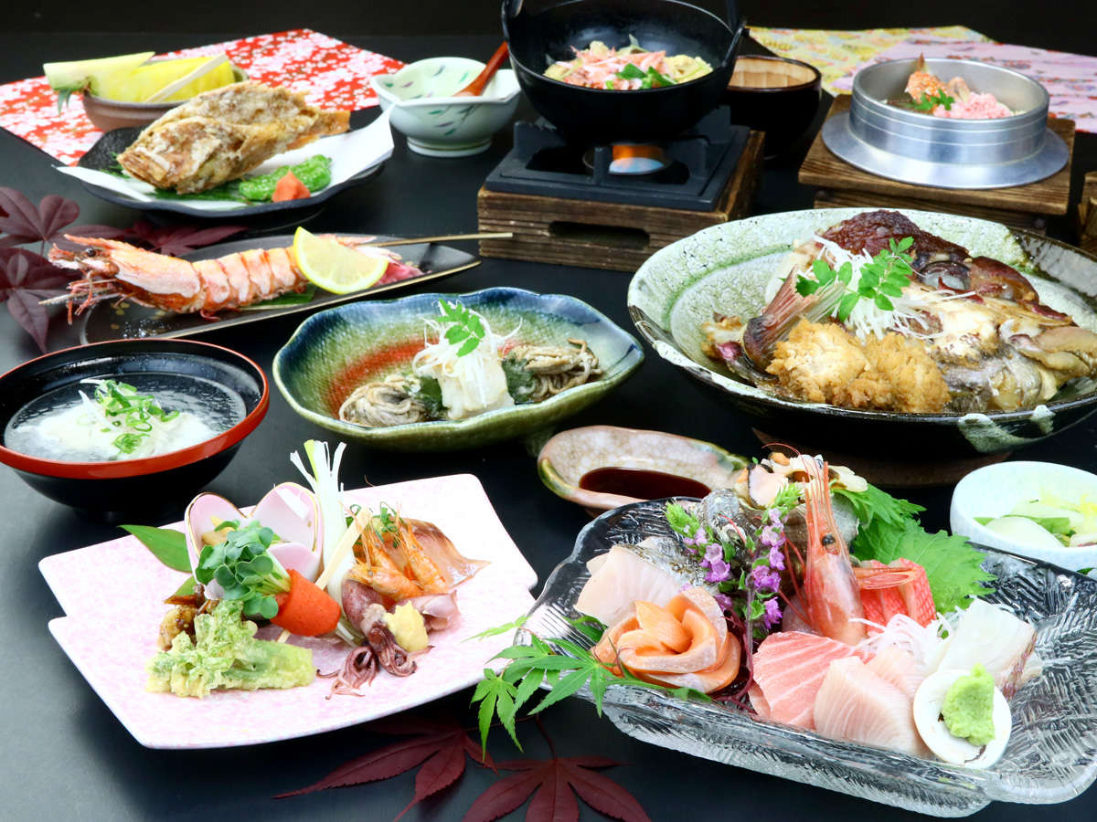 Yadokari a hot-spring inn featuring local seafood cuisine