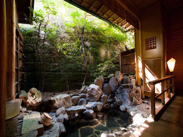 露天風呂付 特別室 【蓬莱の間】の露天風呂
