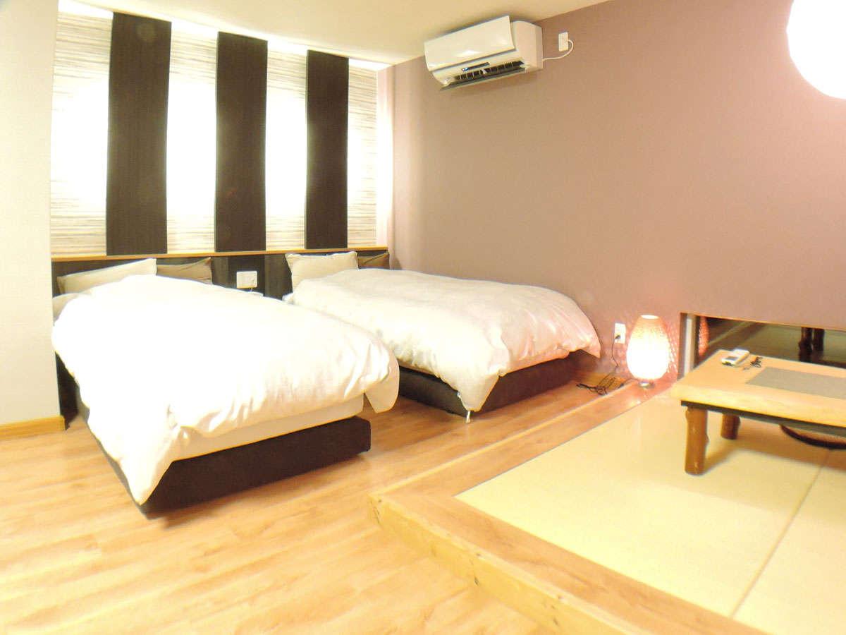 *【新館(すいれん)】2013年に増築されたモダンな客室
