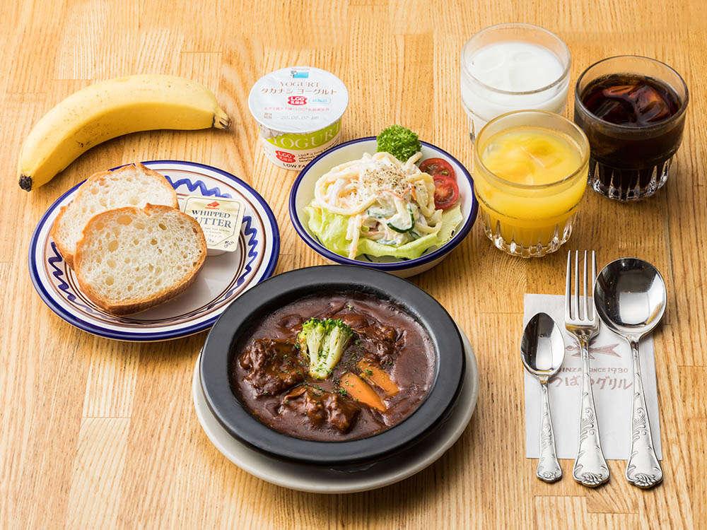 【朝食】1階レストラン・朝食会場…1階レストランつばめグリル。朝食時間…8:00am~10:00am。