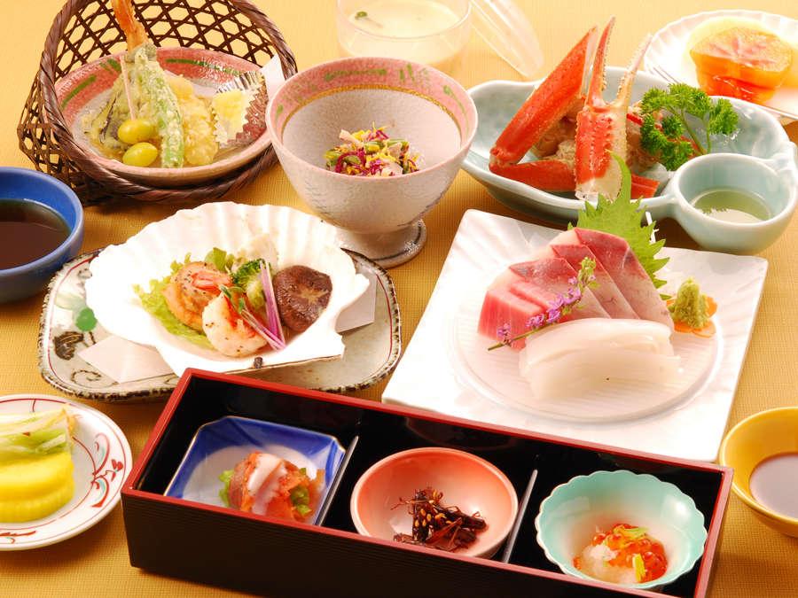 四季折々の新鮮な食材を使用した手作り割烹で新潟の味を満喫。