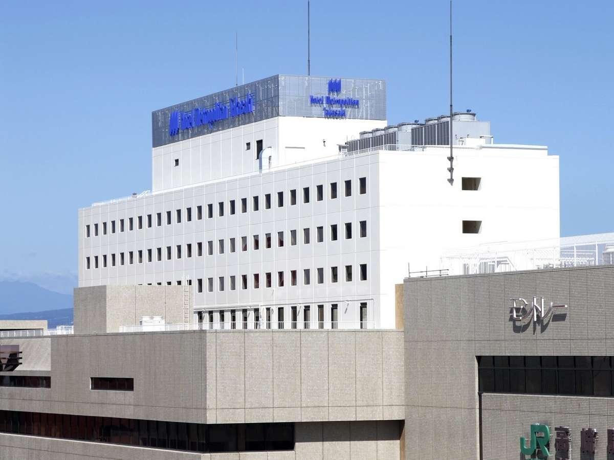 高崎駅に直結したホテルメトロポリタン高崎