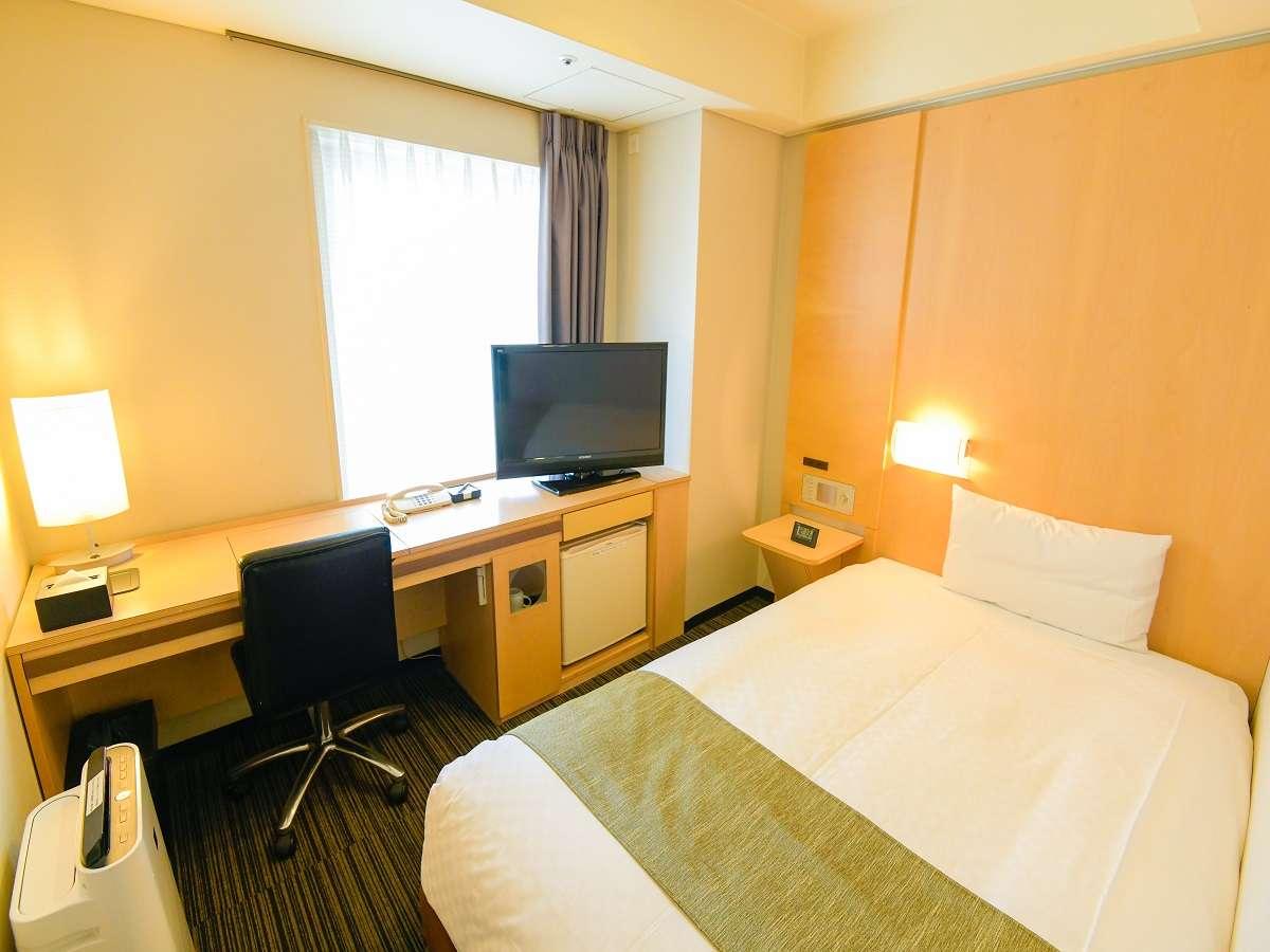 シングルA。広さ14平米、ベッド幅120cmの1名様専用シングルです。