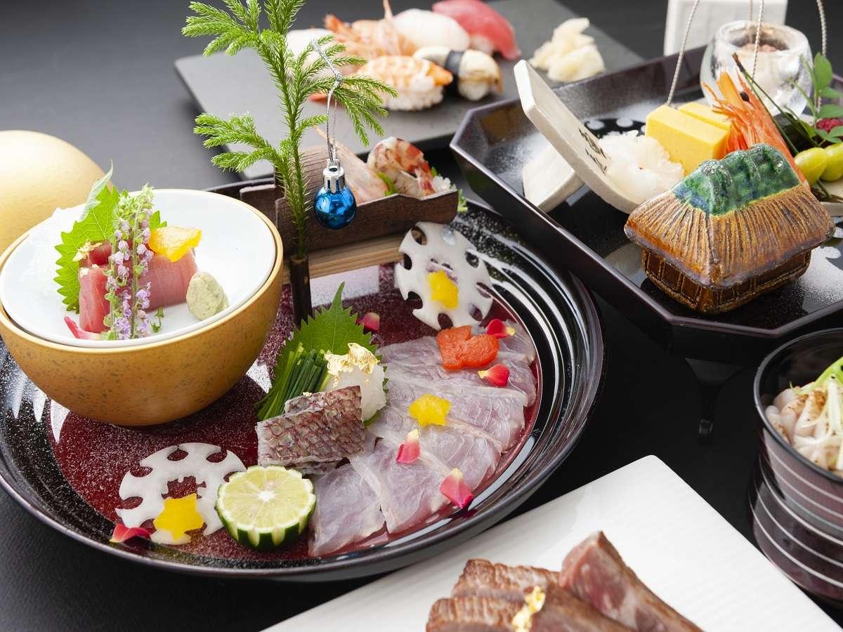 19階日本料理「大阪浮橋」大阪の食材と旬の食材を融合させた四季折々の日本料理を提供します