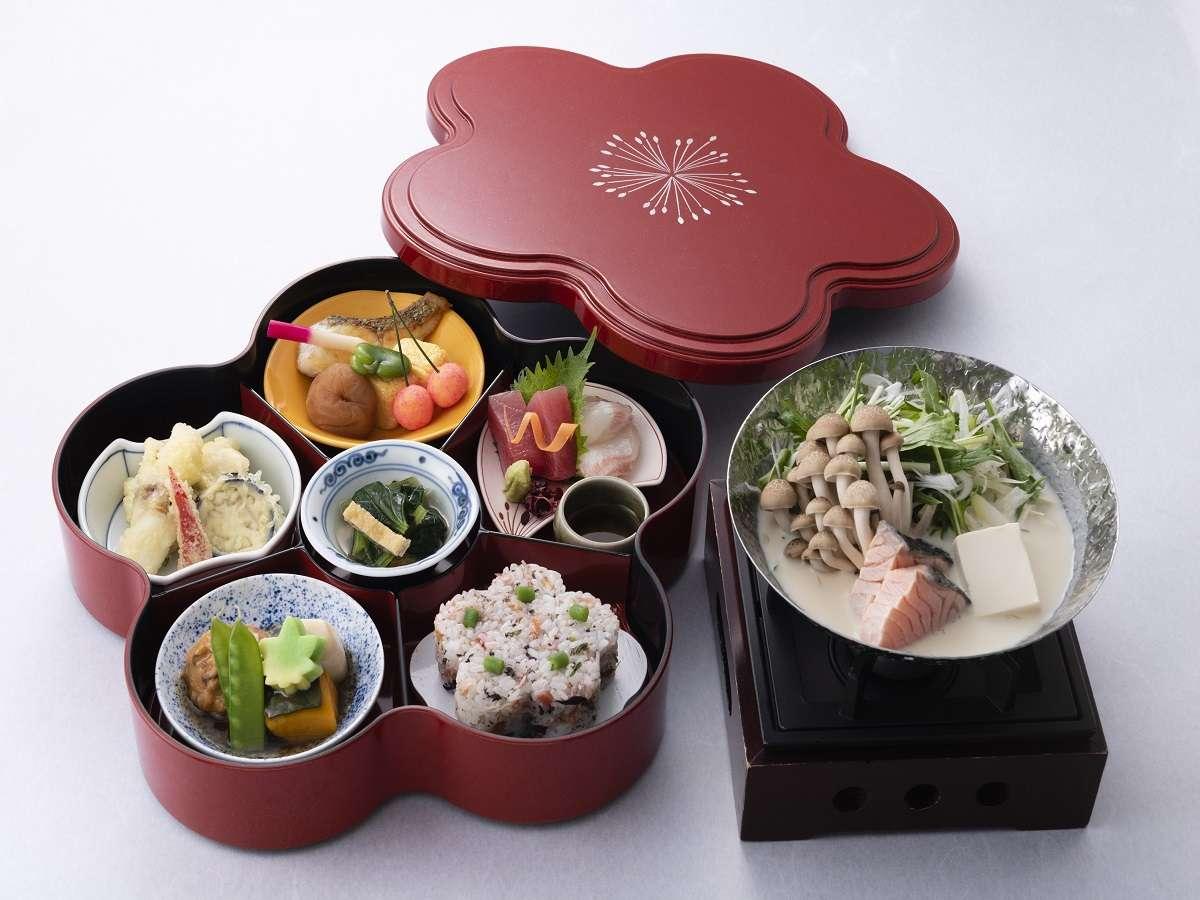 19階なにわ食彩「しずく」四季を大切にした伝統の日本料理に料理長のアレンジを加えた創作和食