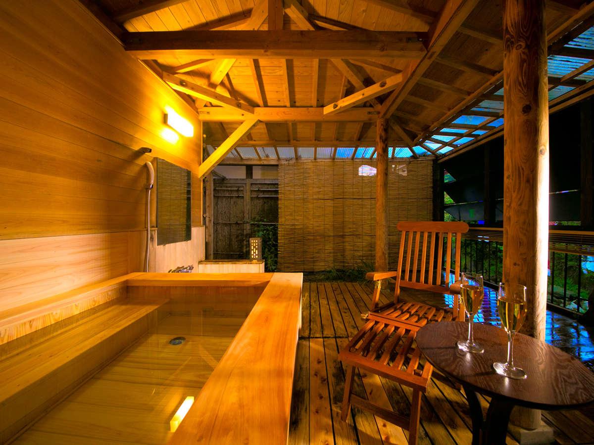 ◆‐せきれい‐客室露天風呂◆