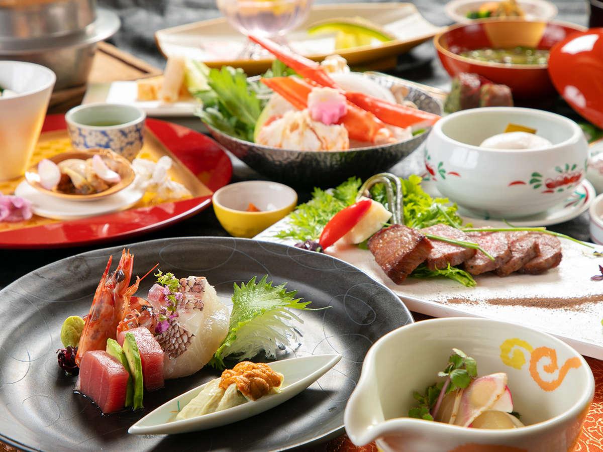 ◆特選会席◆料理長のこだわりが詰まった『珠玉の品々』で、食の真髄に触れる
