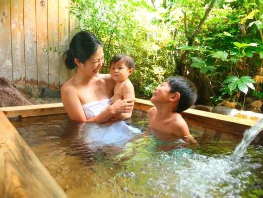 笑顔あふれる人気の家族風呂ですよ♪【事前予約制、有料となります。】
