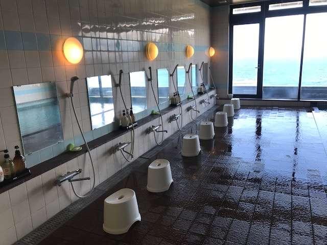 最上階展望大浴場『渚の湯』(女性用浴室)