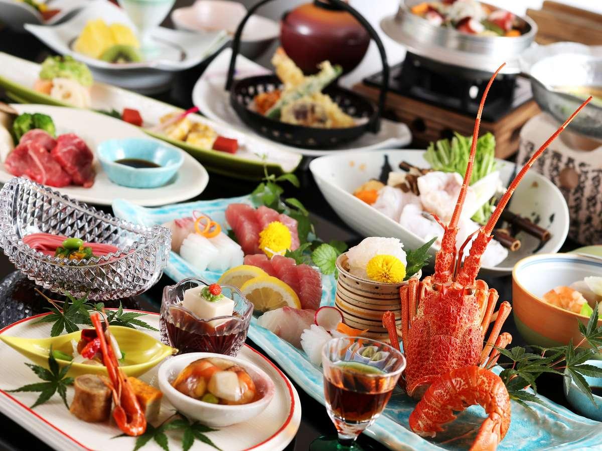 【夕食】ある日の会席(一例)