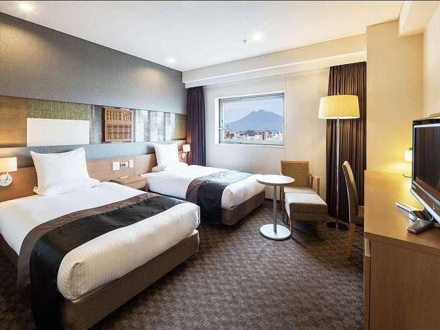 ◆デラックスツインルーム(28平米・一例)/津軽の豊かな自然がテーマのお部屋です