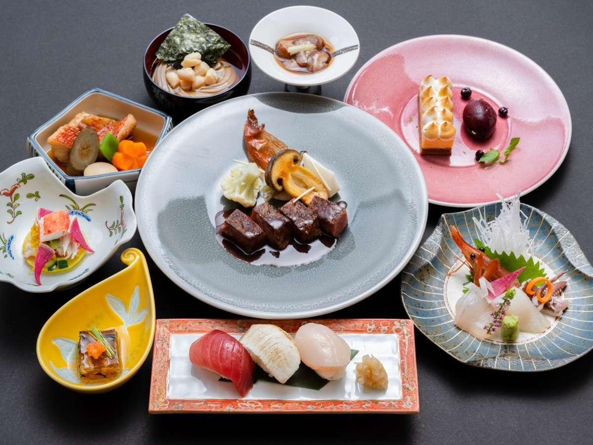 宴会料理_和洋折衷(一例)