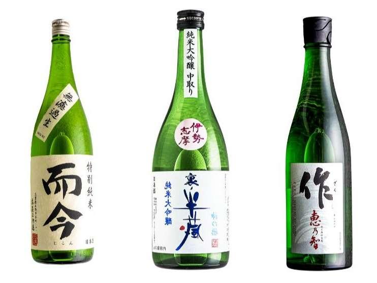 日本酒3種 新たに取り扱い始めました!