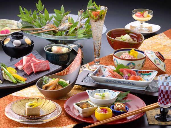 ■-基本懐石-■匠の技と四季の恵みが魅せる【純日本懐石】 信州牛の提供は『すき焼き』になります