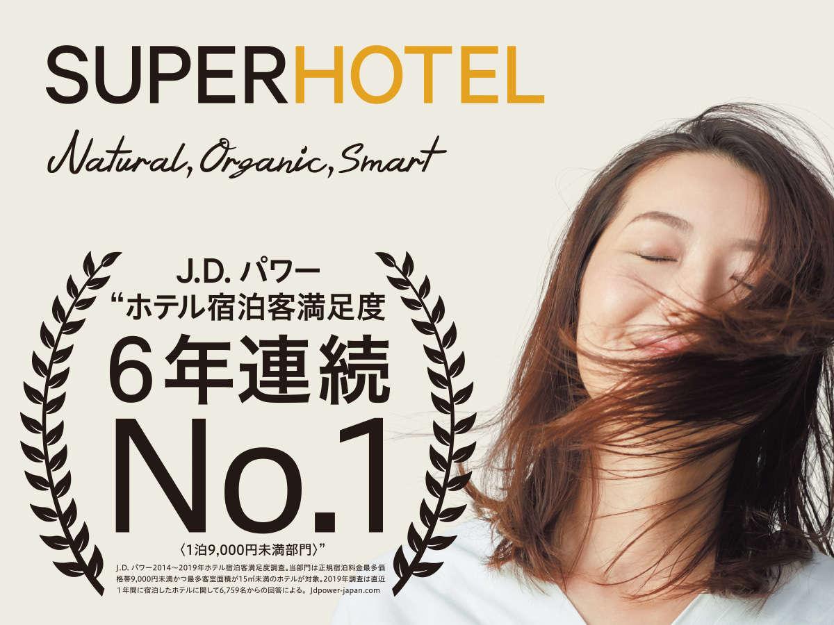 JD.パワー6年連続No,1
