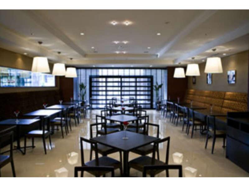 朝食会場Caf&restaurant Oasis