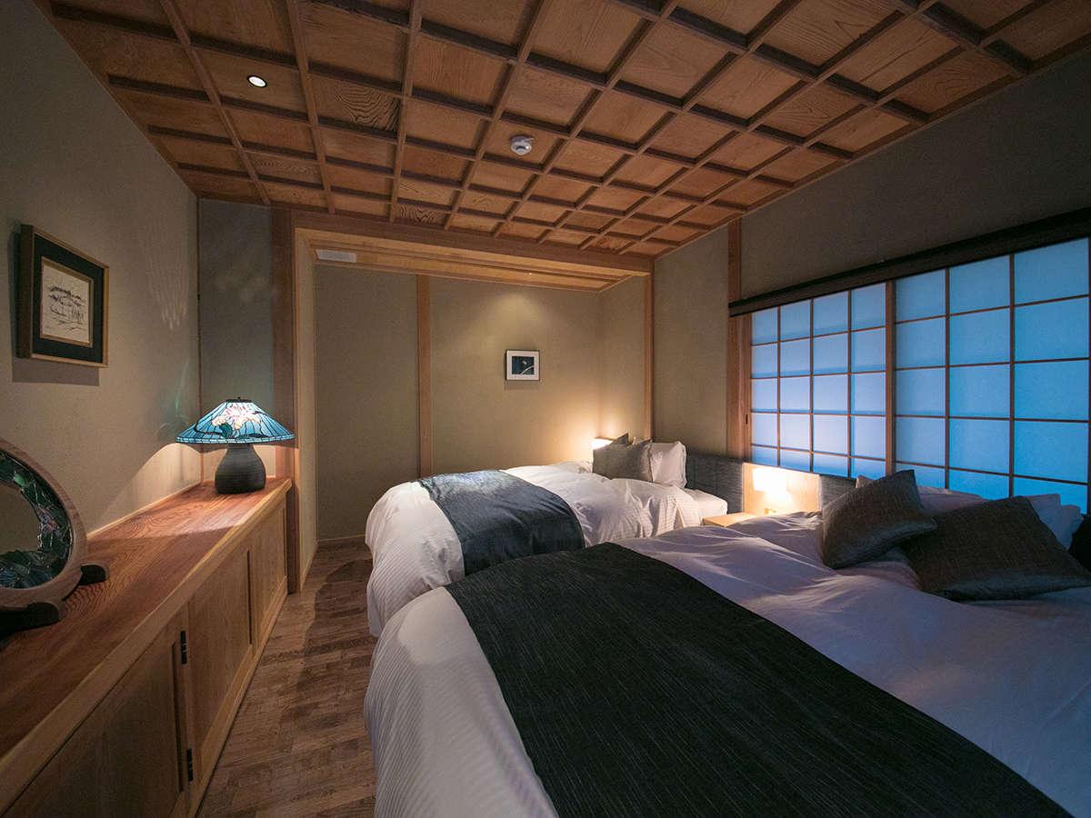 ゆったりとした寝室で旅の疲れを癒してください。