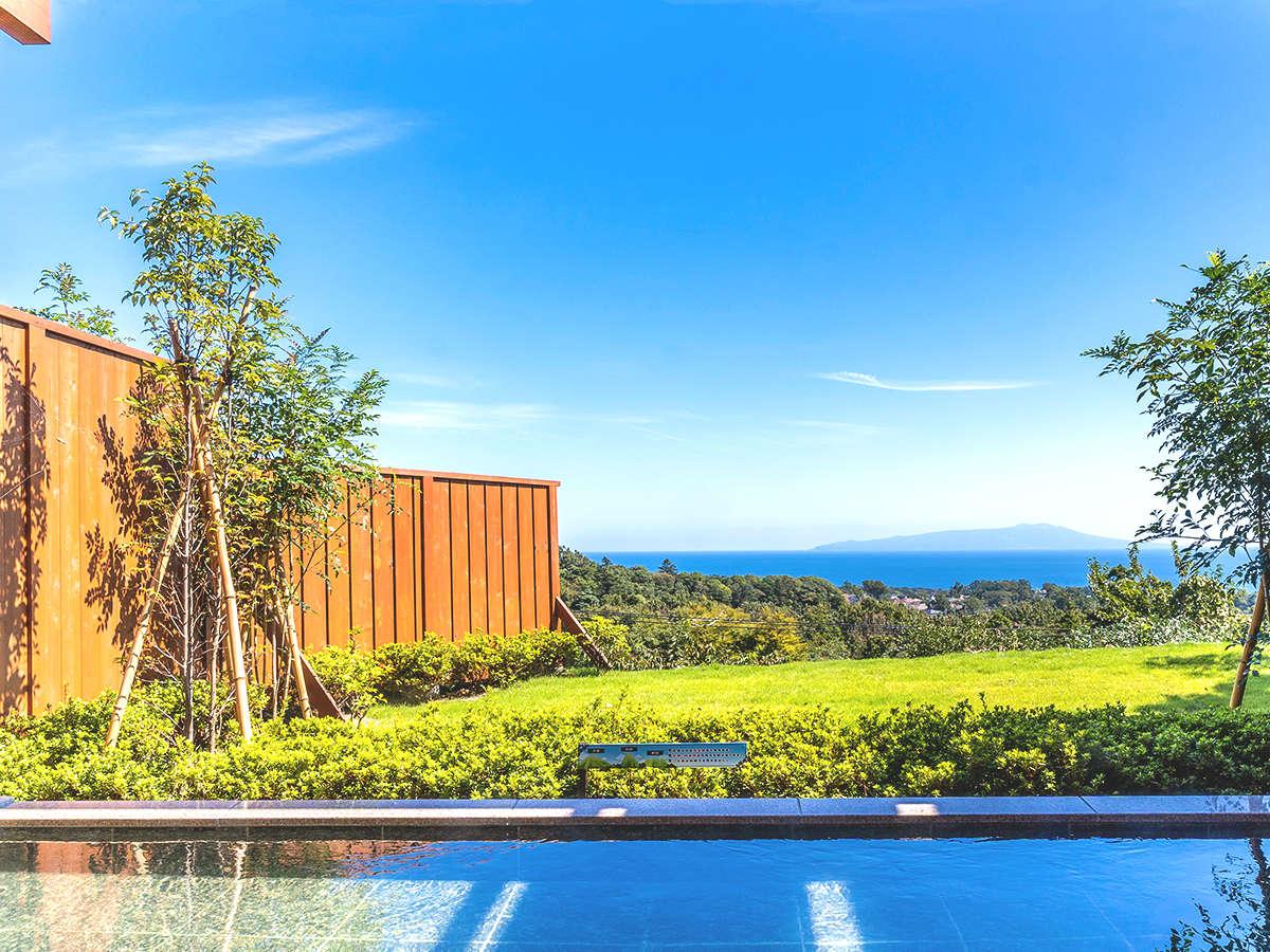 大自然の中の絶景風呂がアンダピング館でお楽しみいただけます。
