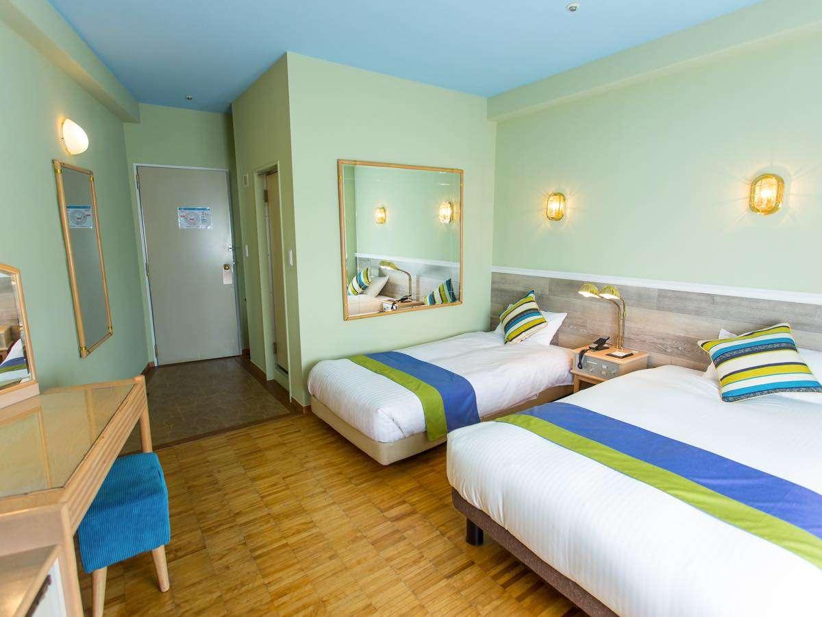 ◆客室は全室22㎡以上のゆとりのスペース◆ ビジネスにおいても快適にご利用いただけます☆