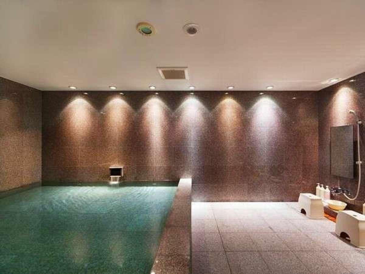 大浴場(男湯)徒歩1分未満「アグネスホテル・プラス」1Fの大浴場を無料でご利用いただけます。
