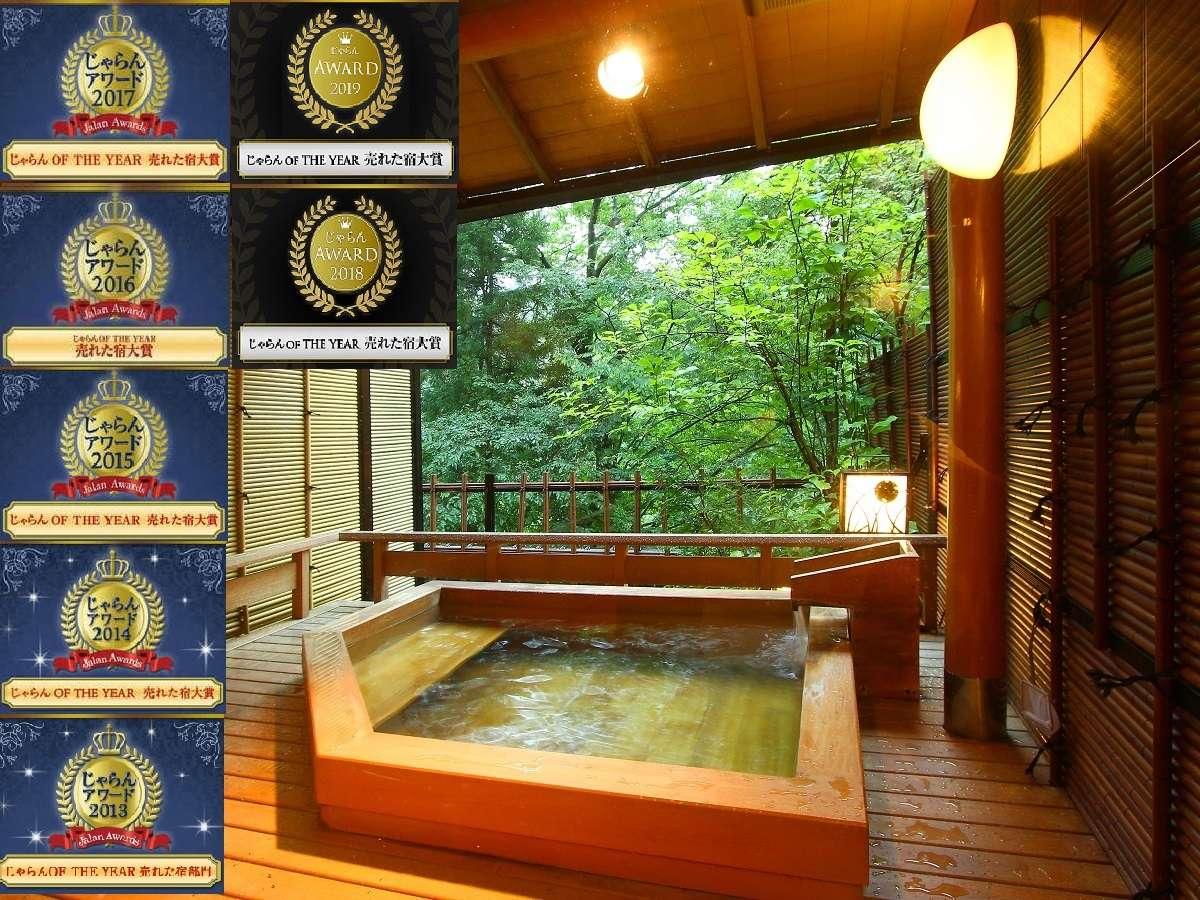 じゃらんアワード2019 売れた宿部門【近畿・北陸エリア51室~100室】で1位を獲得致しました!