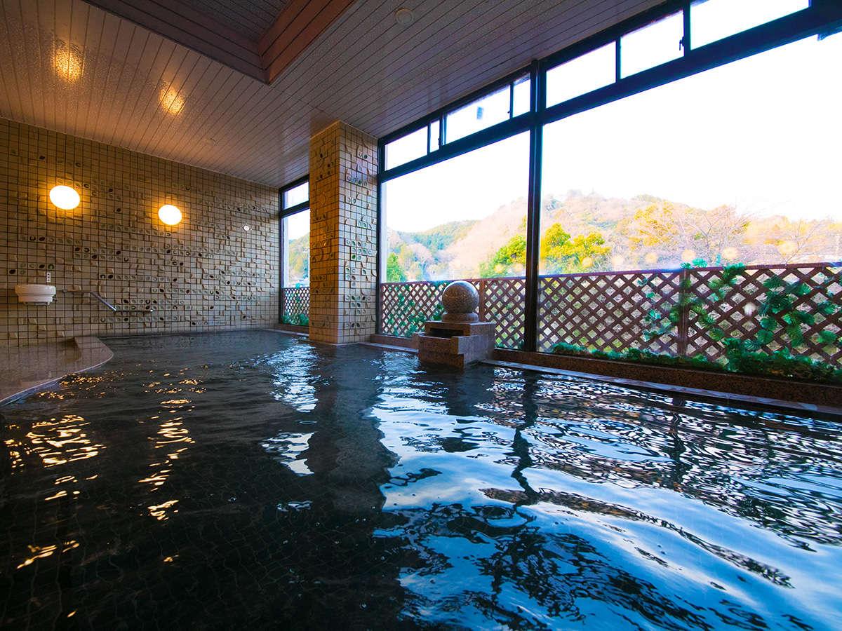 【大浴場 -女湯-】江戸の世では湯治場としても愛され、人気を博しておりました
