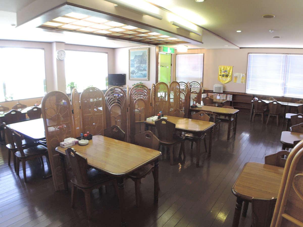 *【食堂】夕食・朝食はこちらでお召し上がりください