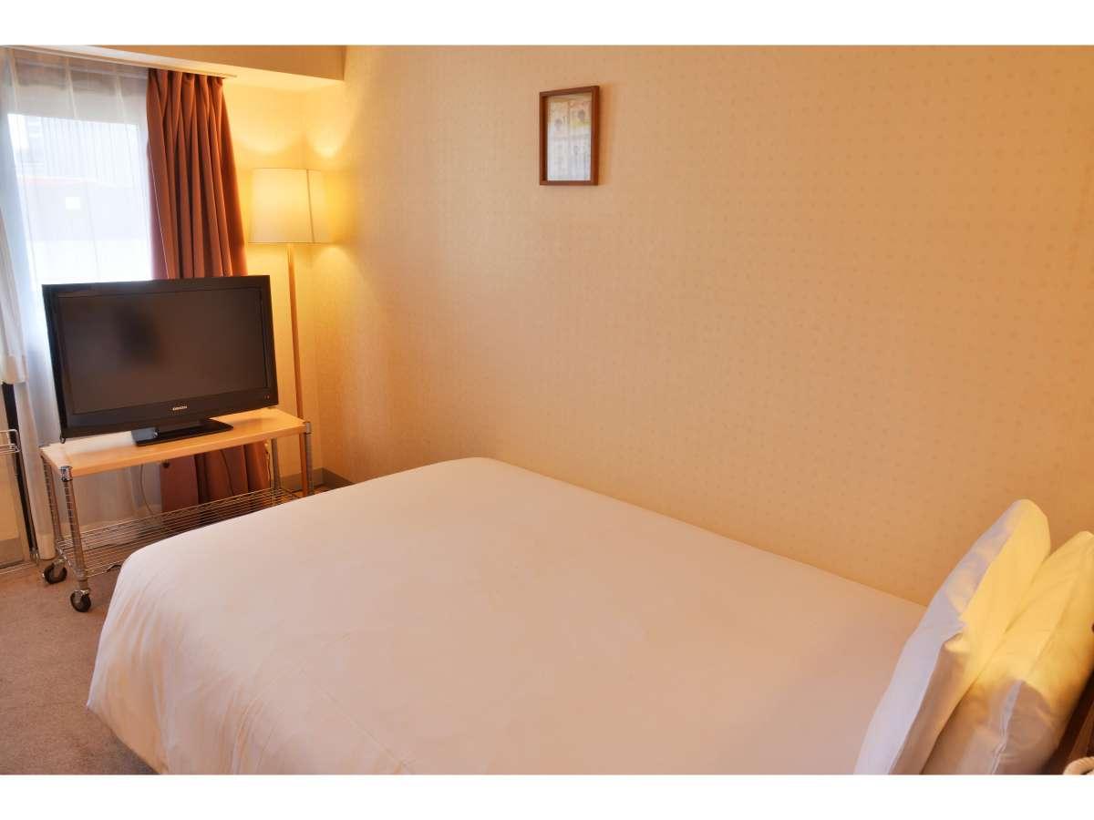 タイプA スタンダードなシングルルーム15㎡ ベッド幅120cm