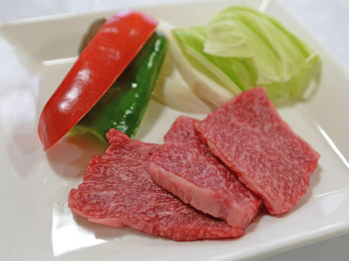 *【夕食一例】壱岐牛もご堪能いただけますよ♪