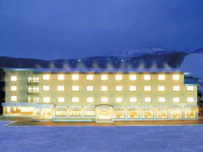 菅平スキー場のゲレンデ目の前「菅平サンホテル」(新館3号館)