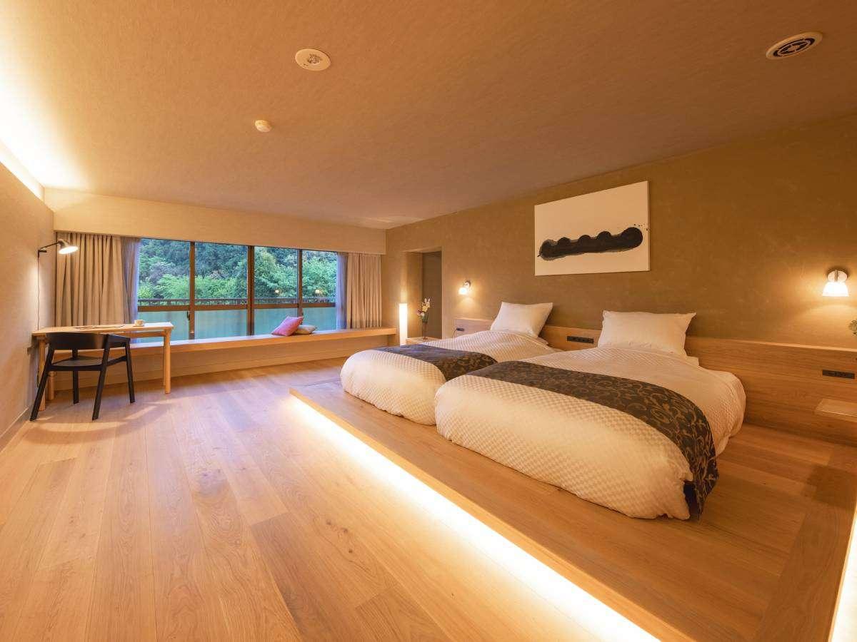 【NEW OPEN★プレミアムスイート】広々とした室内とバスルームが特徴の1室限定の特別なお部屋