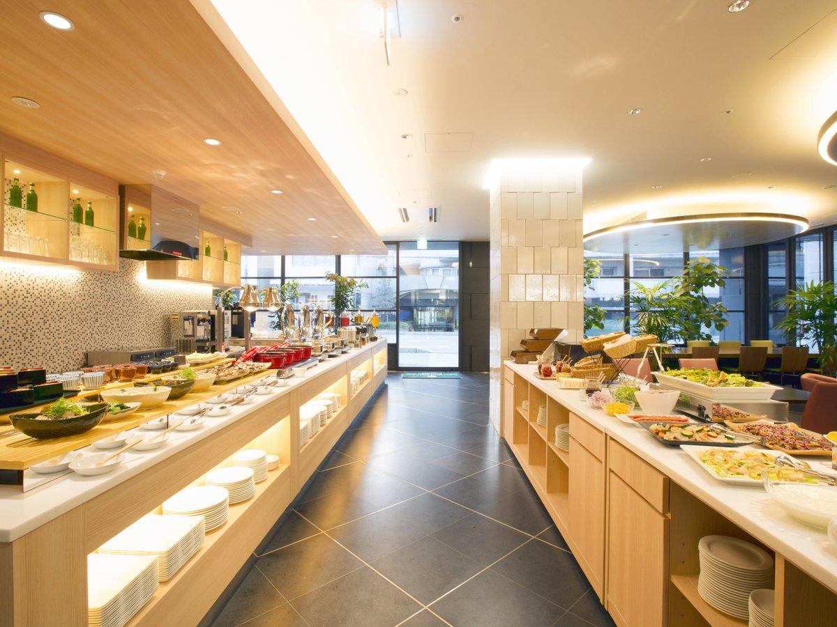 【和洋バイキング朝食】種類豊富なお料理をご用意しています。(6:30~10:00)