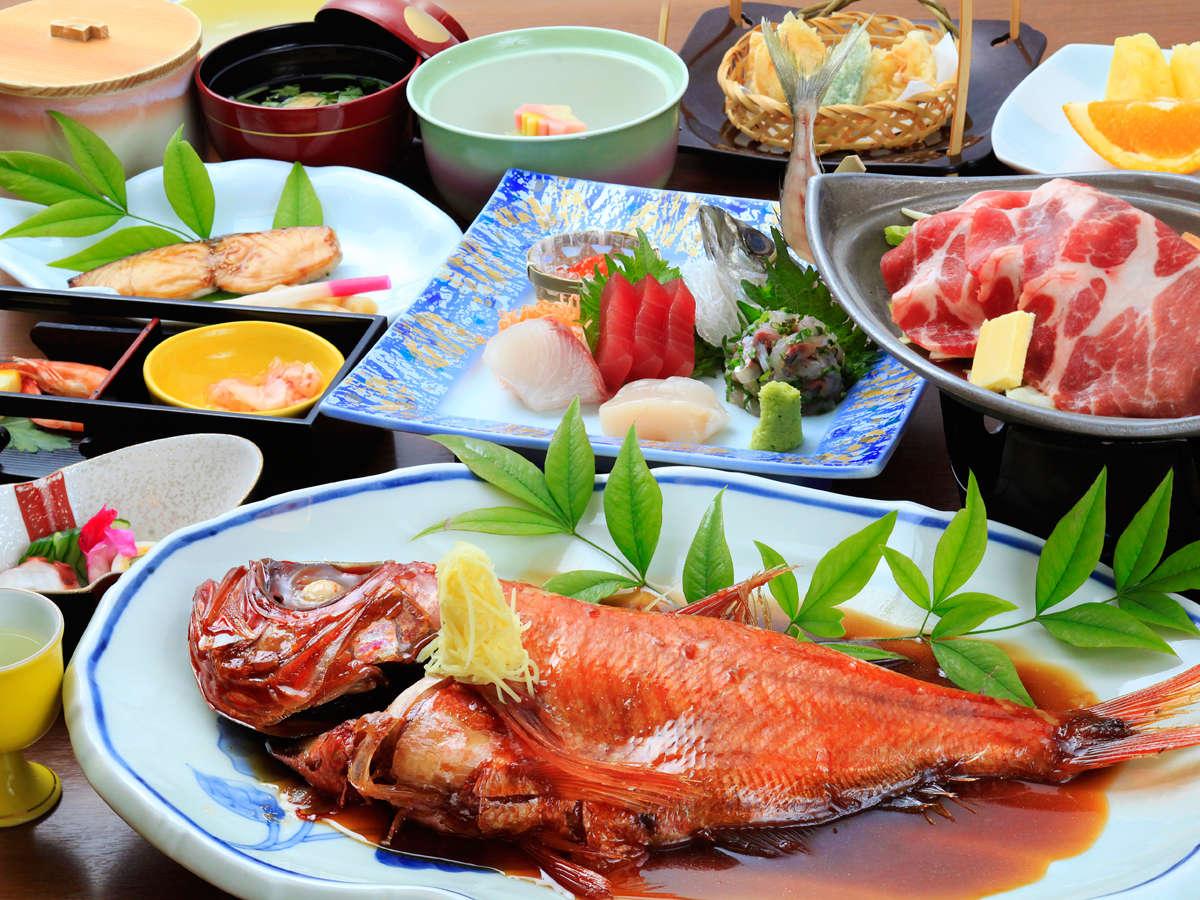 ■料理■金目鯛の姿煮付け付きプラン(イメージ)