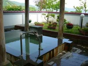 庭園露天風呂【洞爺湖を一望】