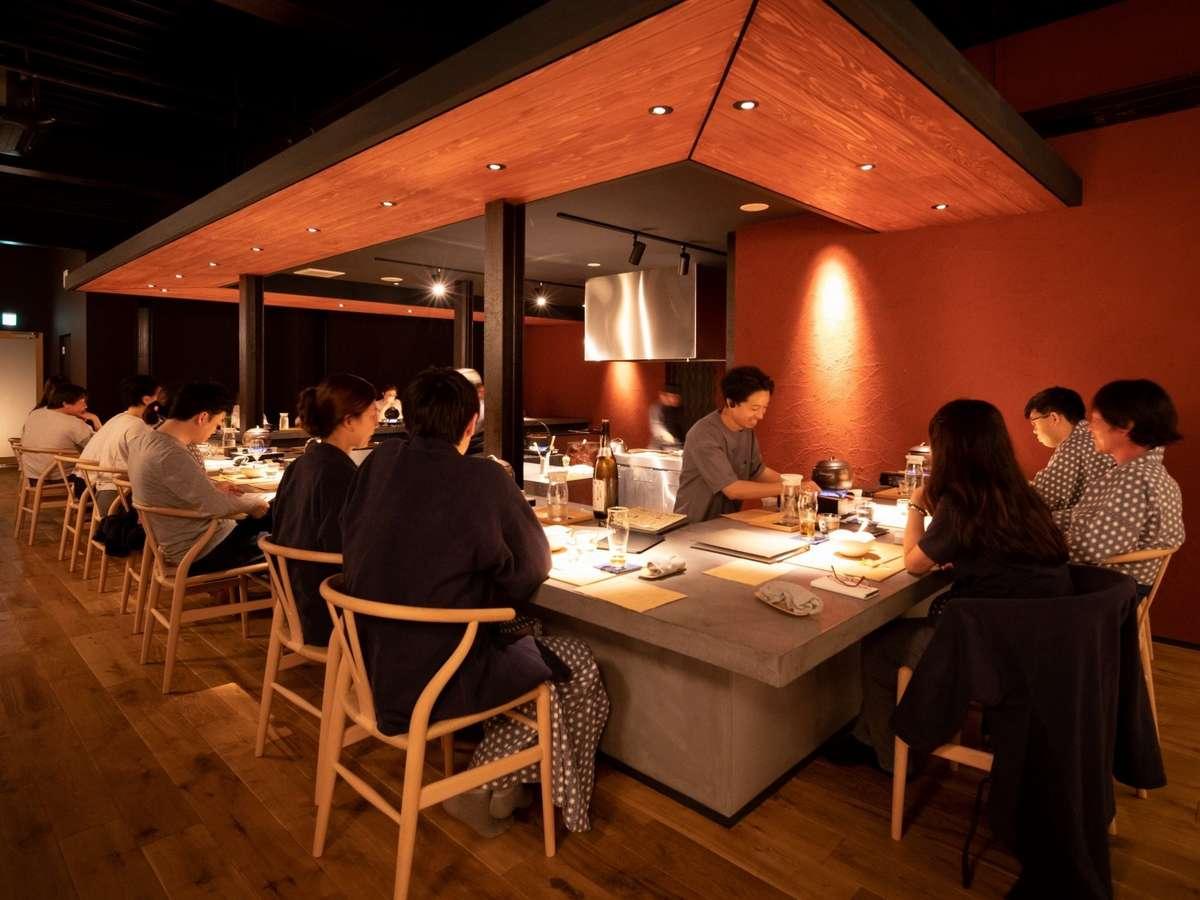 【レストラン Discover Yamagata「1/365」/カウンター】置賜の豊かな自然と食文化を楽しむ
