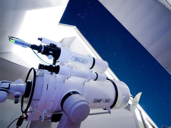 ご宿泊の方には無料開放!天文館からの志摩の空はまるで宝石箱をひっくり返したよう!