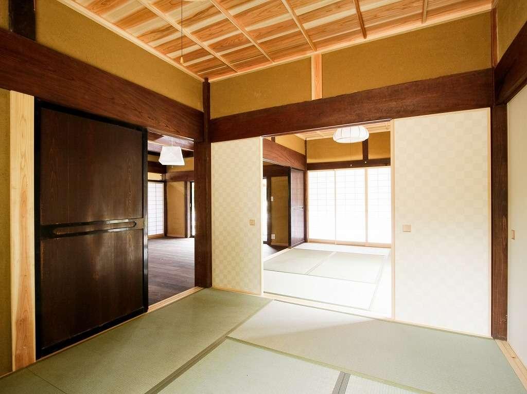 6畳の和室が2部屋ございます。