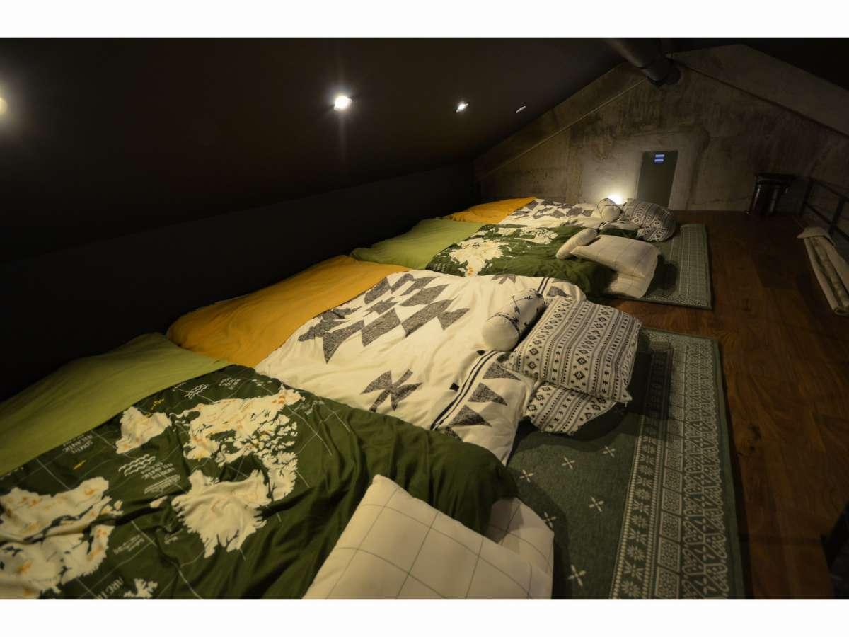 ロフトスペース(寝室利用可能)
