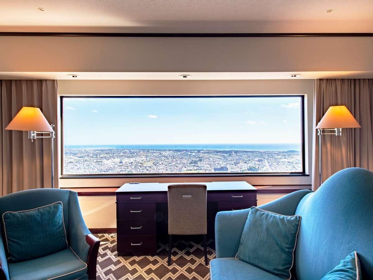 お部屋からの眺め(イメージ)全室32階以上!大きな窓からは浜松市街の景色が一望できます