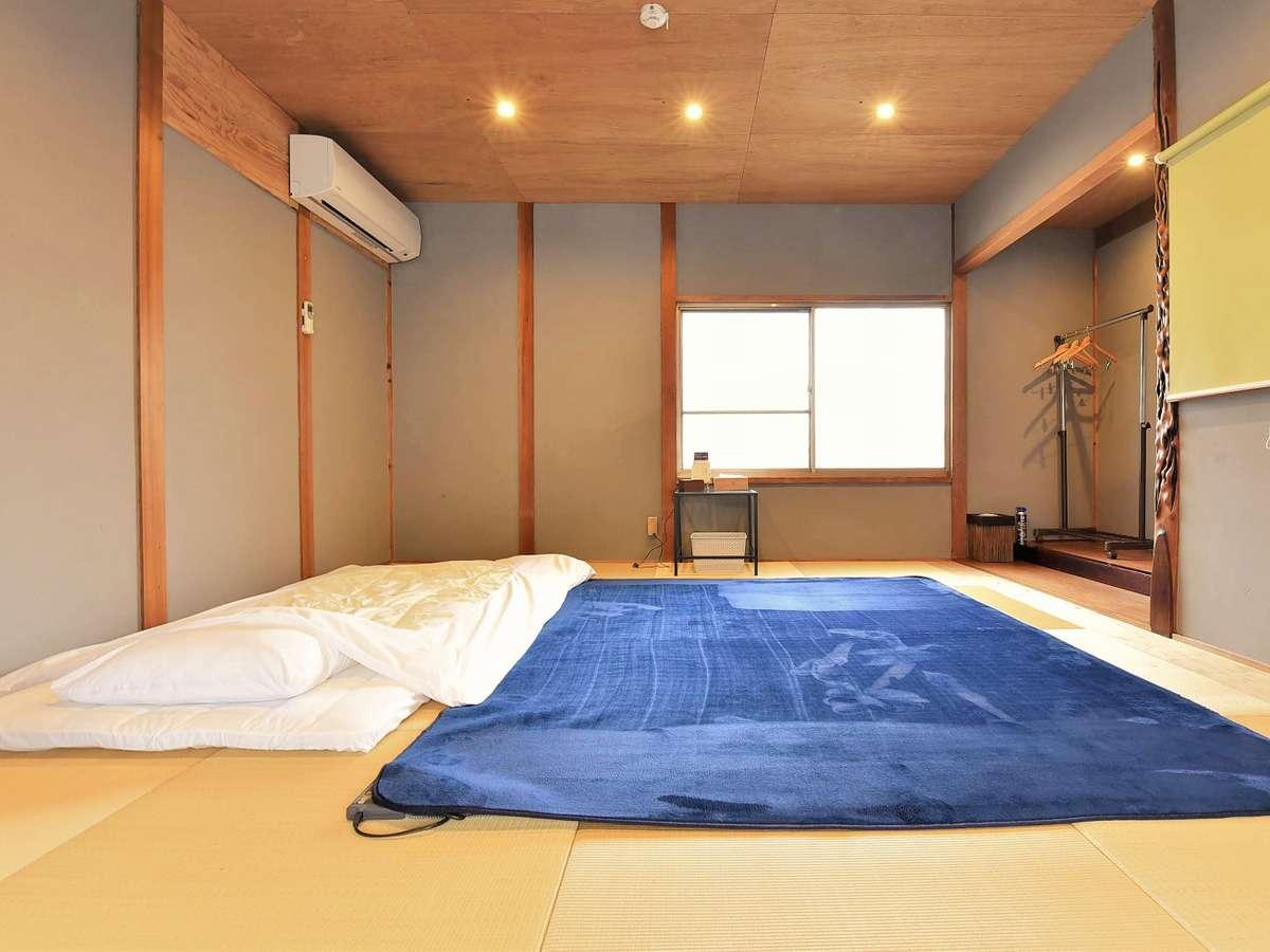 2階のお部屋は和室になっています。
