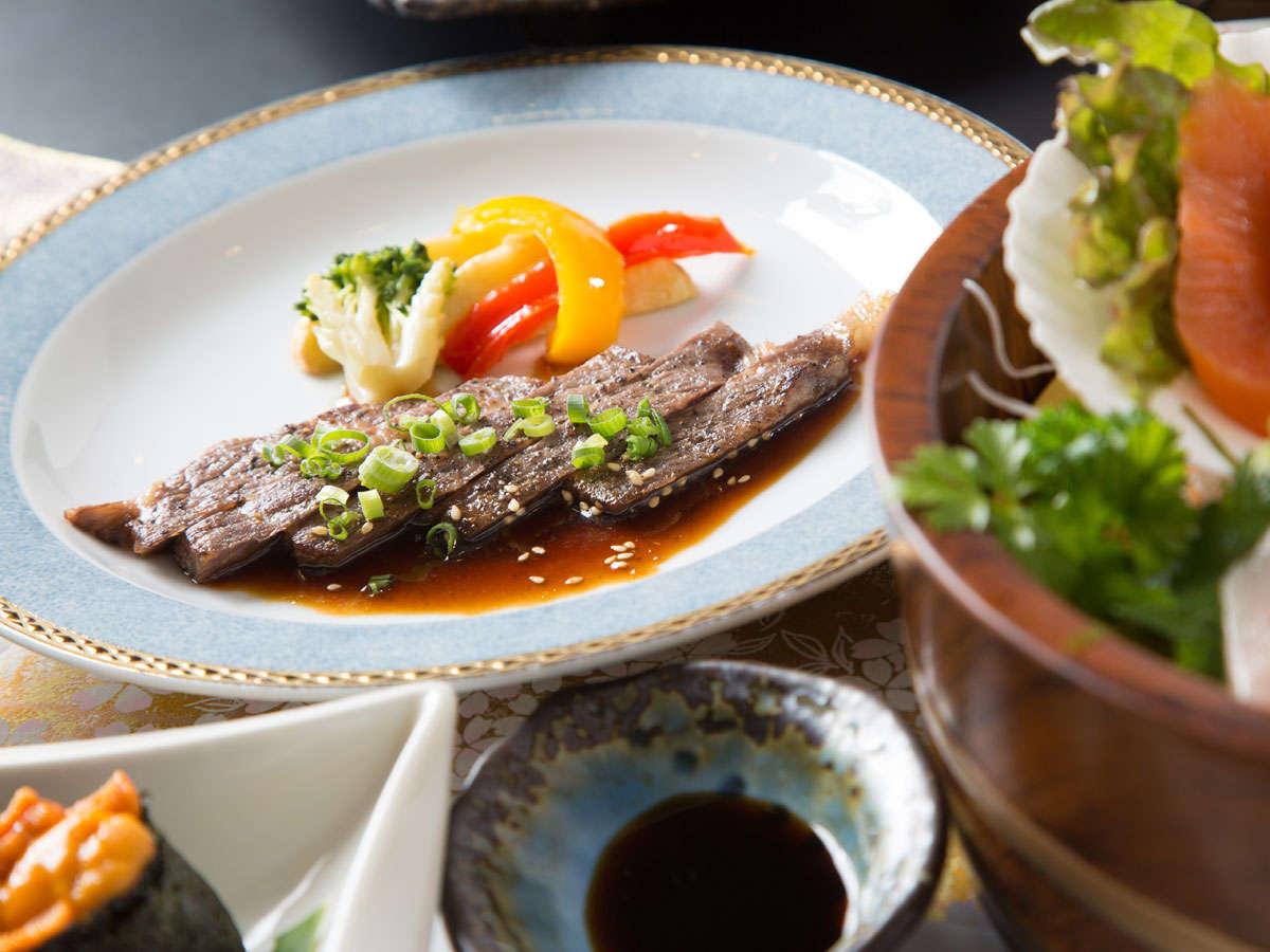 【恵コース】アップグレードプラン・牛ステーキ