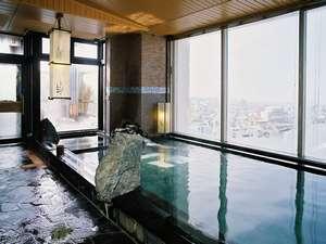 最上階男性大浴場