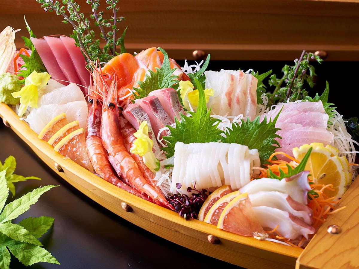 【6/1~7/21】夏の料理フェア 【天草】海の幸  漁港獲れたて!鮮魚のお造り盛り合わせ ※イメージ
