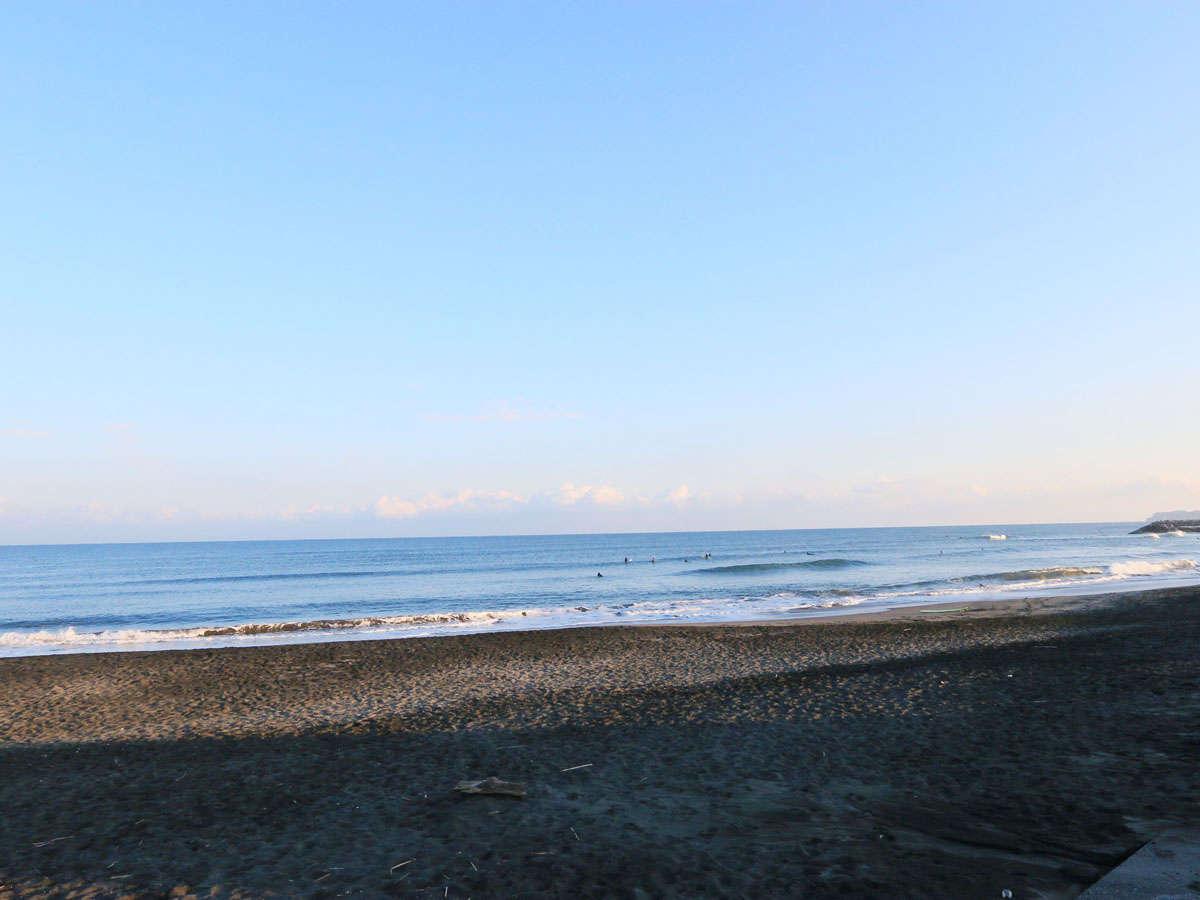 *一宮海水浴場☆砂の感触が素足にやさしいビーチ。サーファーからの人気も高い