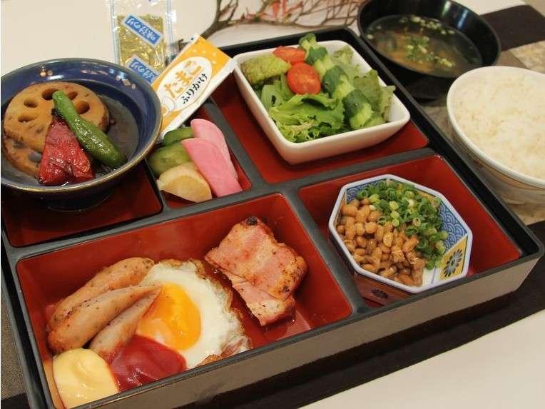 日替わり朝食(一例)